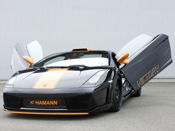 Hamann Lamborghini Gallardo Victory cars modified 2007 wallpaper