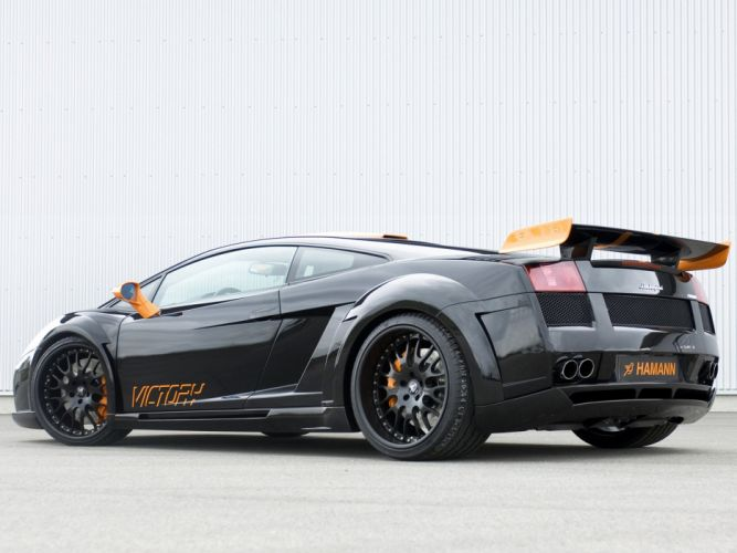 Hamann Lamborghini Gallardo Victory cars modified 2007 wallpaper