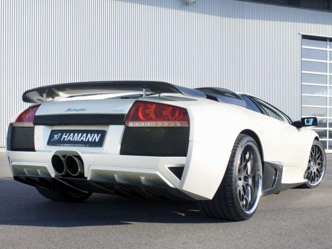 Hamann Lamborghini Murcielago LP640 cars modified 2007 wallpaper