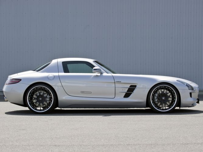 Hamann Mercedes-Benz SLS-63 AMG cars modified 2010 wallpaper