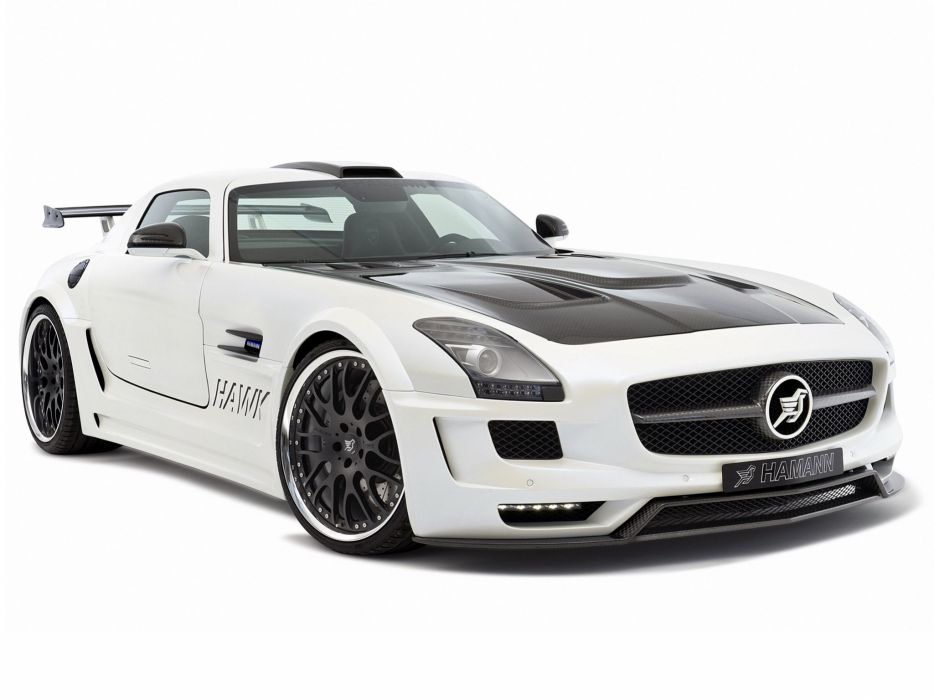 Hamann Mercedes-Benz SLS-63 AMG Hawk cars modified 2011 wallpaper