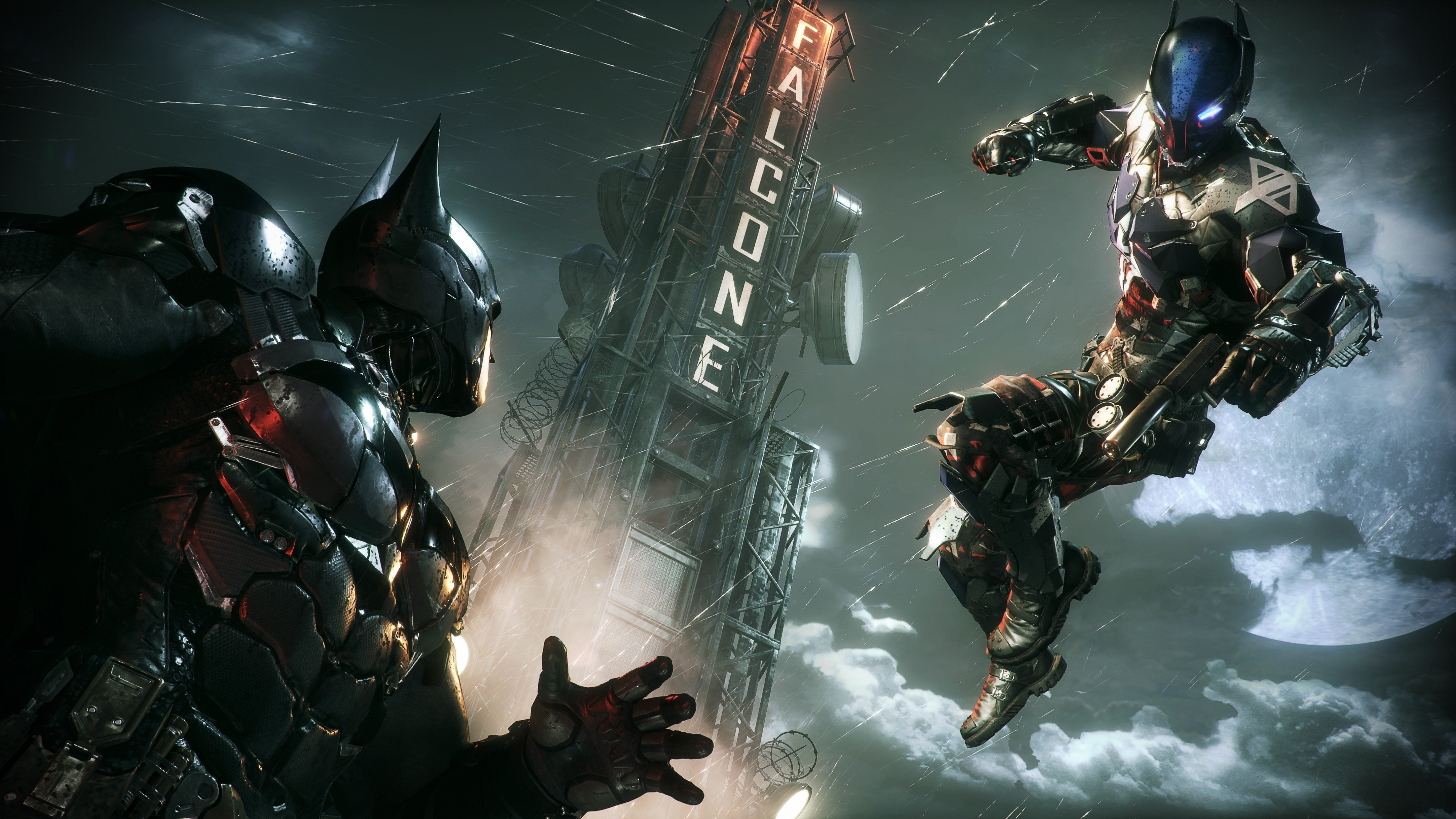 Batman Arkham Knight Разоружение