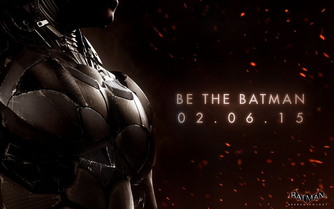 BATMAN ARKHAM KNIGHT superhero dark action adventure fighting shooter poster wallpaper