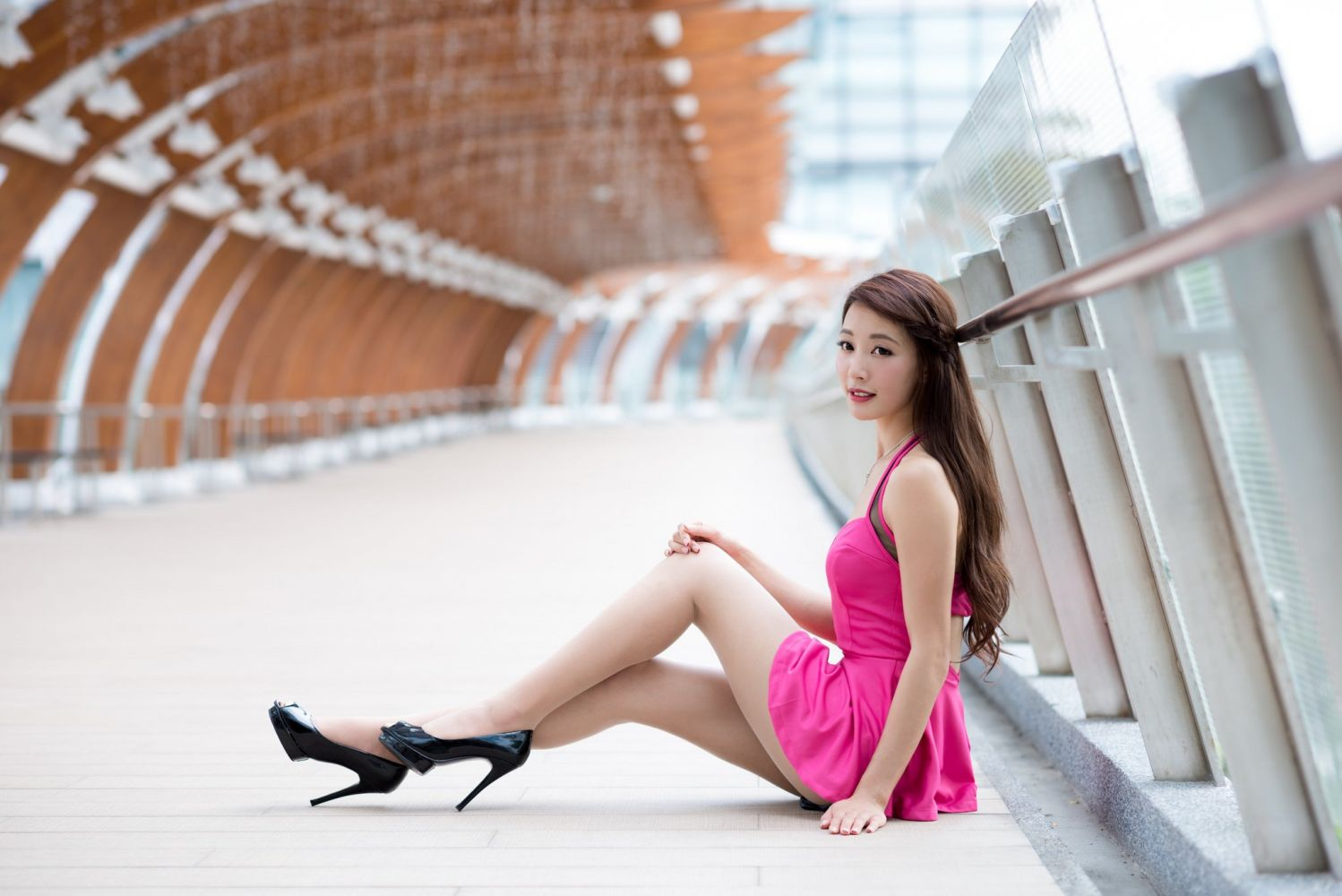 Pictures one legged asian female picture