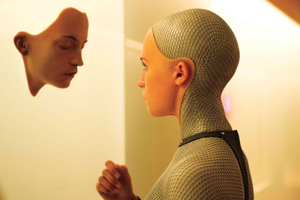 EX-MACHINA drama sci-fi thriller rbt cyborg futuristic 1exmach wallpaper