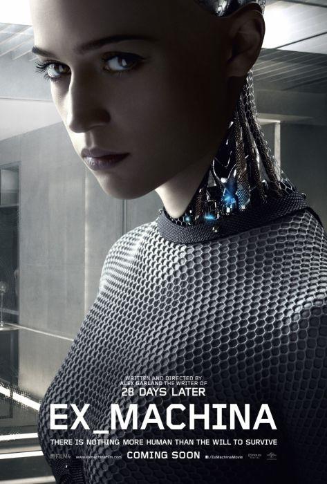 EX-MACHINA drama sci-fi thriller rbt cyborg futuristic 1exmach poster wallpaper