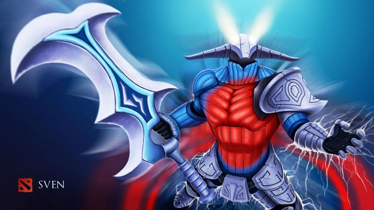 Dota 2 Sven Heroes sword wallpaper