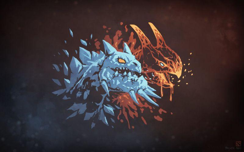 Dota 2 Heroes Jakiro dragon wallpaper