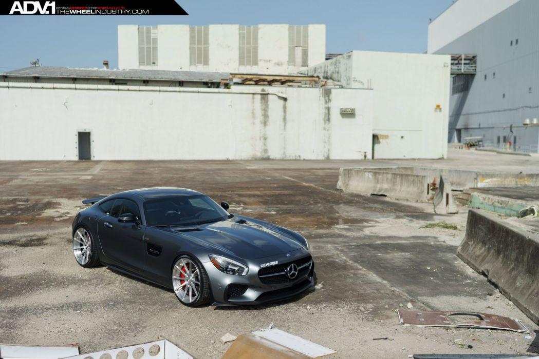 ADV 1 WHEELS GALLERY MERCEDES AMG GTS EDITION cars wallpaper