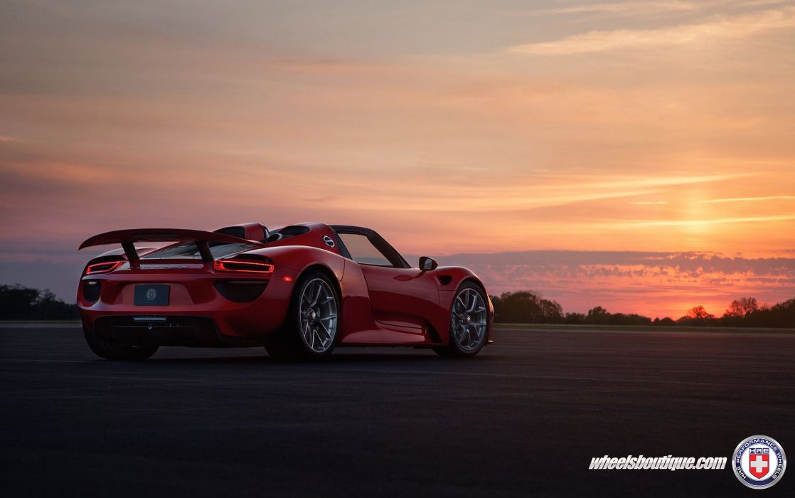 HRE WHEELS GALLERY Porsche 918 Spyder cars wallpaper