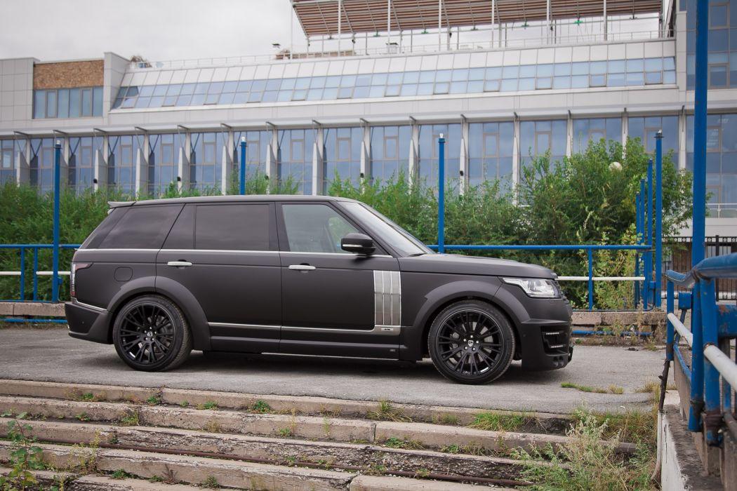 Lumma Design CLR-R range rover LWB (L405) cars modified 2014 wallpaper