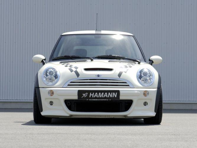 Hamann Mini Cooper-S (R53) cars modified 2008 wallpaper