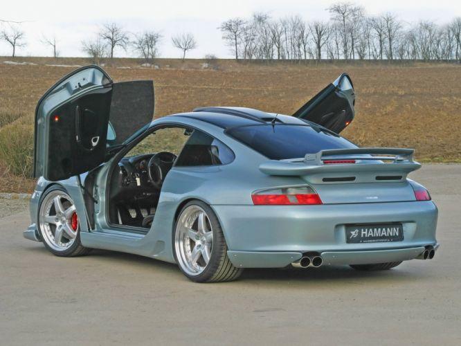 Hamann San Diego Express porsche 911 (996) cars modified 2003 wallpaper