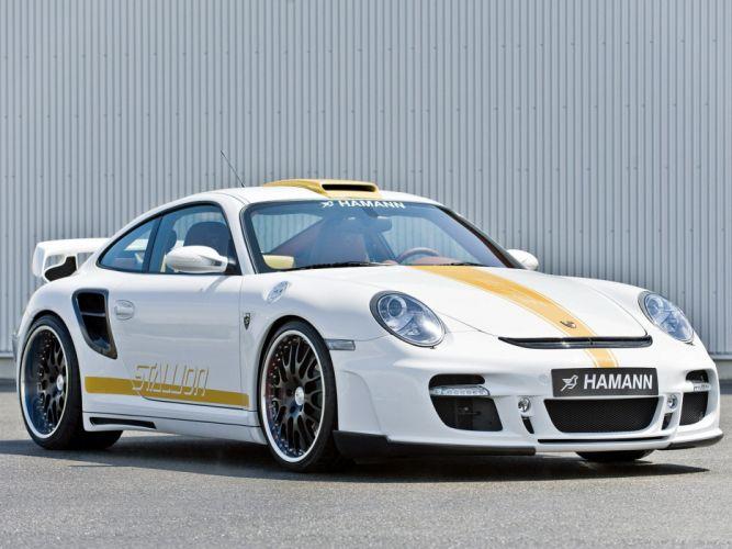 Hamann porsche Stallion 911 (997) cars modified 2008 wallpaper