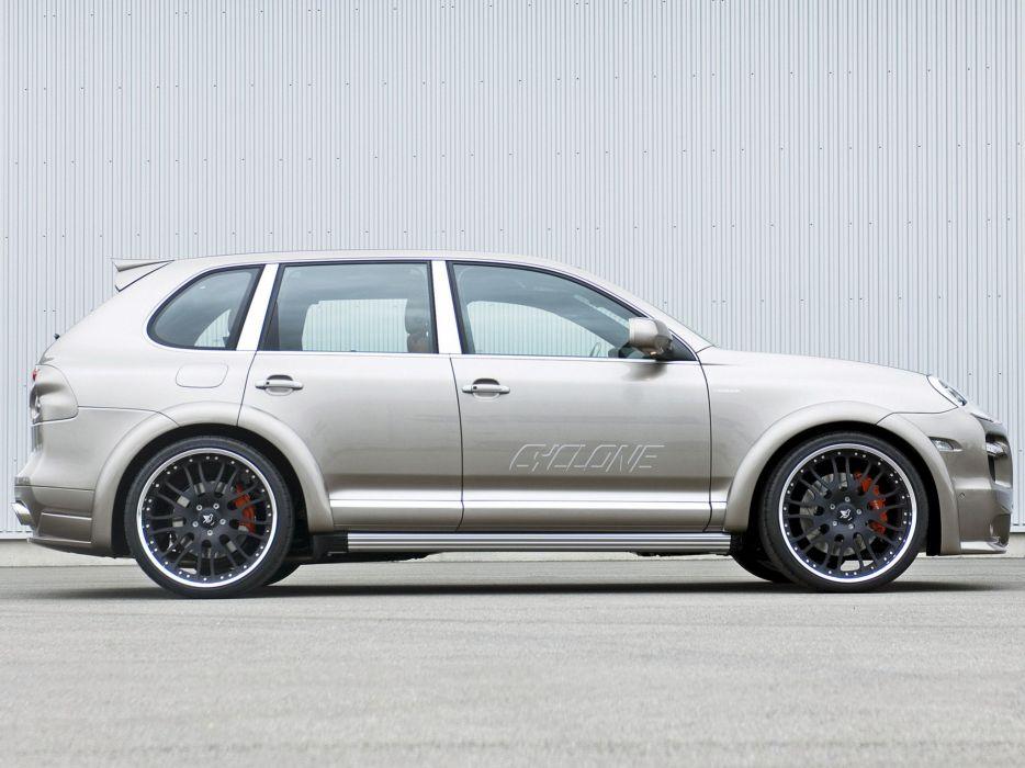 Hamann Porsche Cayenne turbo Cyclone (957) cars modified 2007 wallpaper