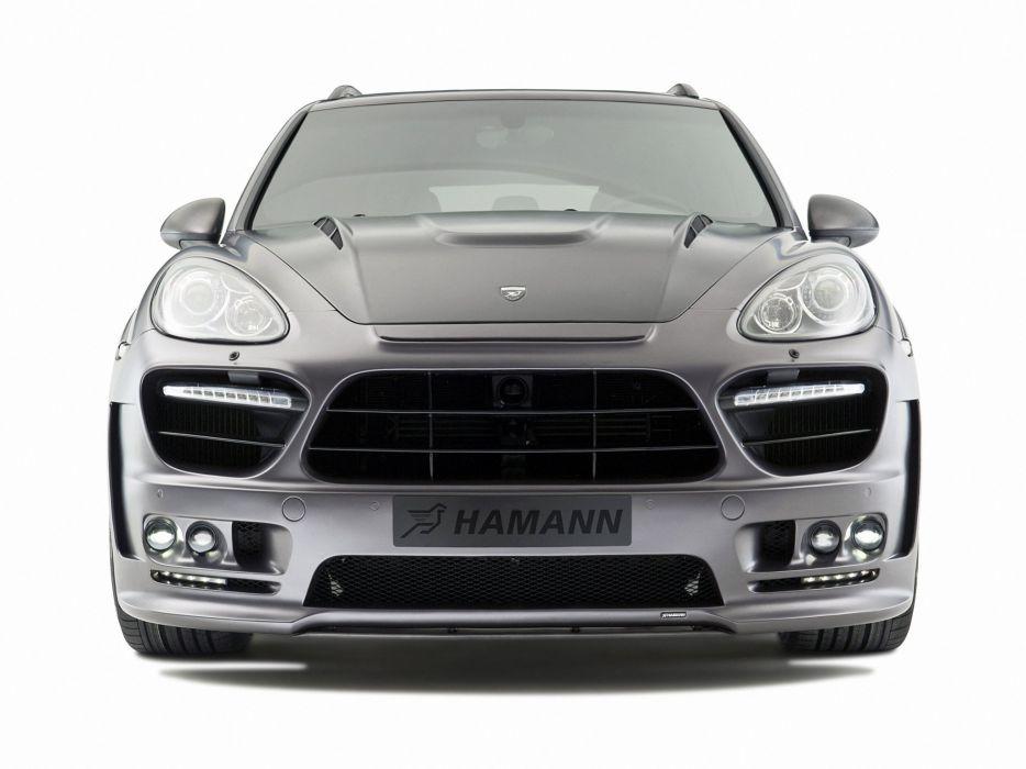 Hamann Porsche Cayenne Guardian (958) cars modified 2011 wallpaper