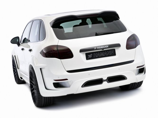 Hamann Porsche Cayenne Guardian EVO (958) cars modified 2011 wallpaper