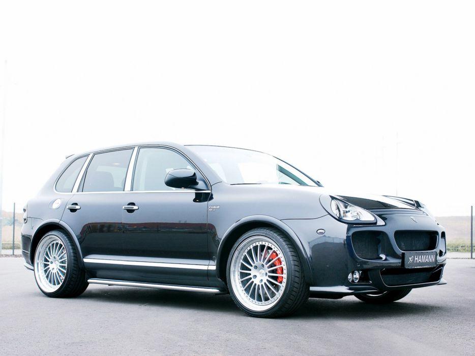 Hamann Porsche Cayenne turbo (955) cars modified 2008 wallpaper