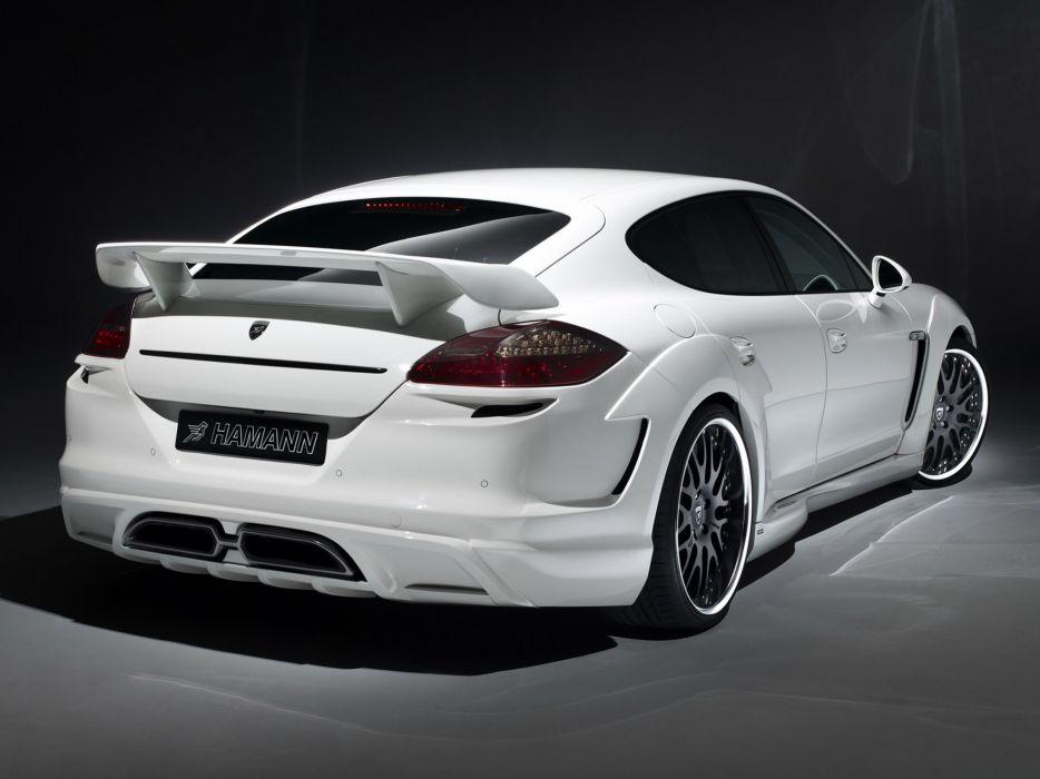 Hamann Porsche Paragon panamera (970) cars modified 2011 wallpaper