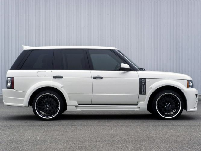 Hamann Range Rover LR-V8 Supercharged (L322) cars modified 2011 wallpaper