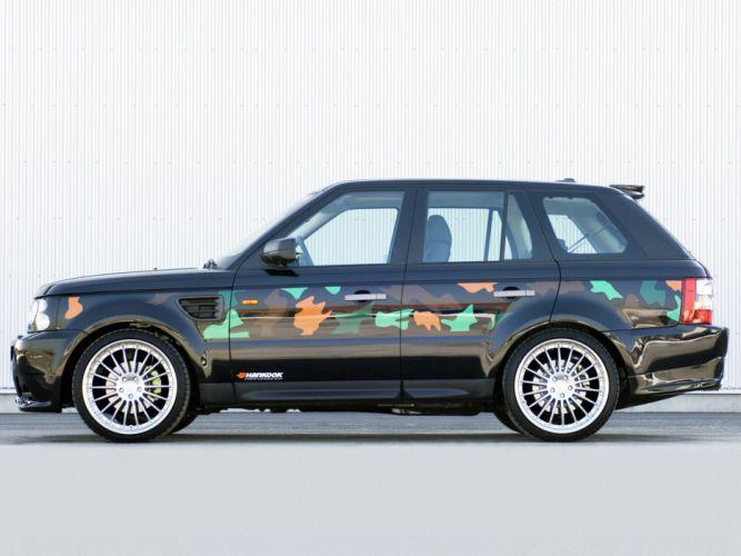 Hamann Range Rover sport cars modified 2006 wallpaper