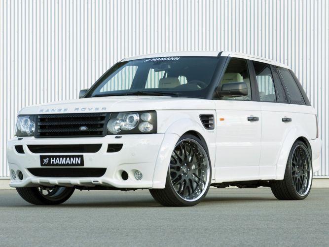 Hamann Range Rover sport Conqueror cars modified 2007 wallpaper