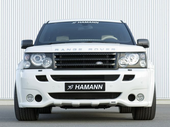 Hamann Range Rover sport Conqueror cars modified 2007 wallpaper