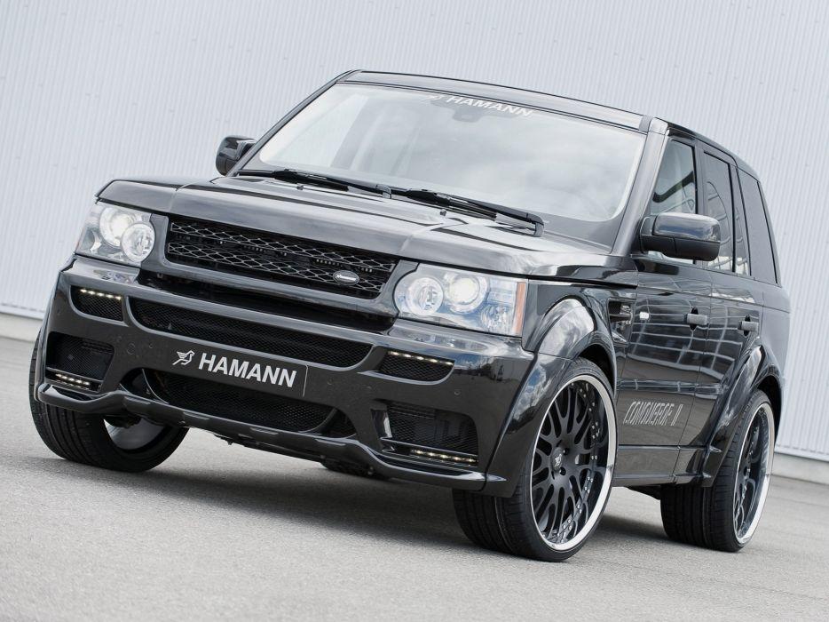 Hamann Range Rover sport Conqueror-II cars modified 2010 wallpaper