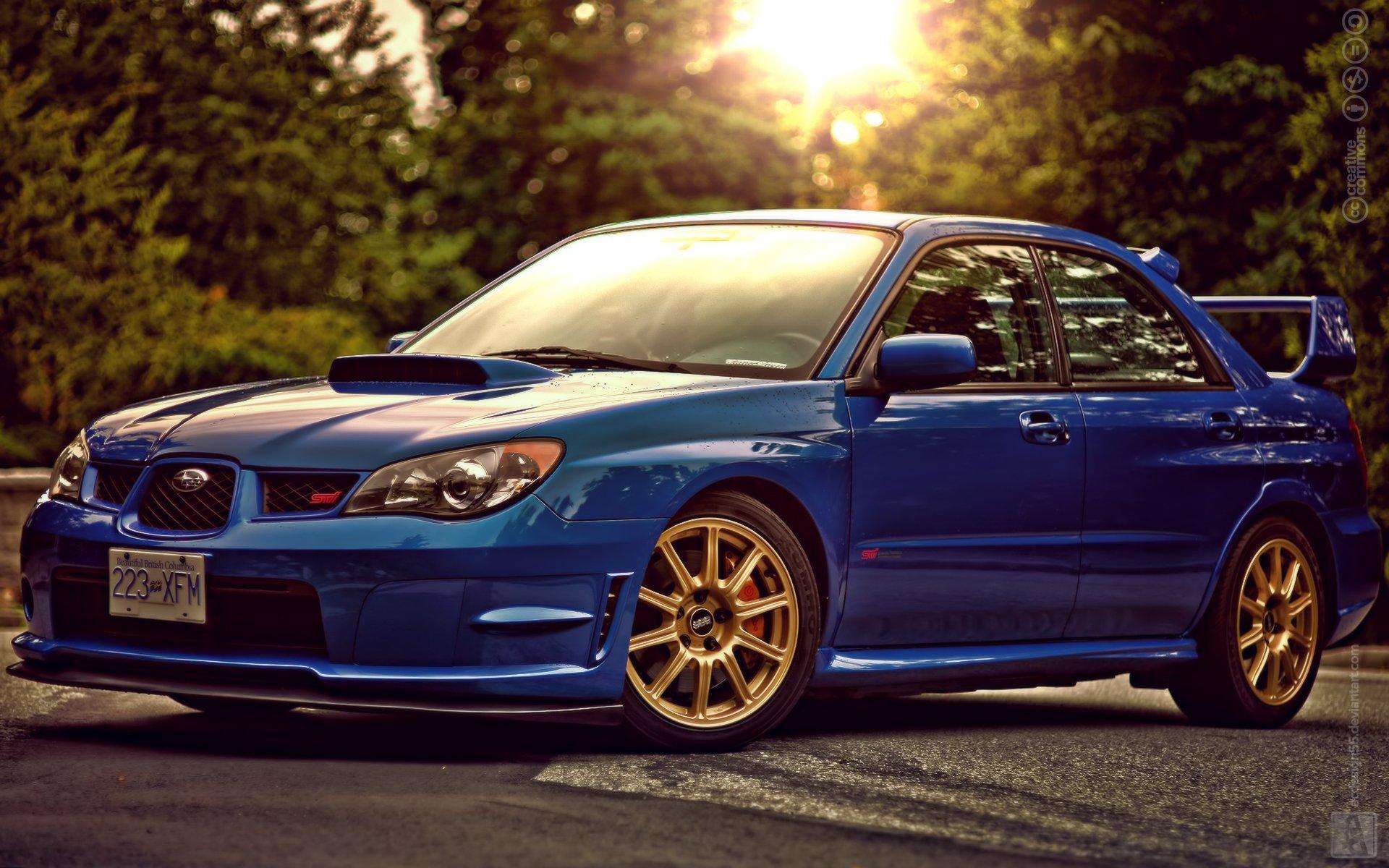 Subaru Wrx Sti Impreza 2017 >> Subaru Impreza WRX Sti Blue wallpaper | 1920x1200 | 747275 | WallpaperUP