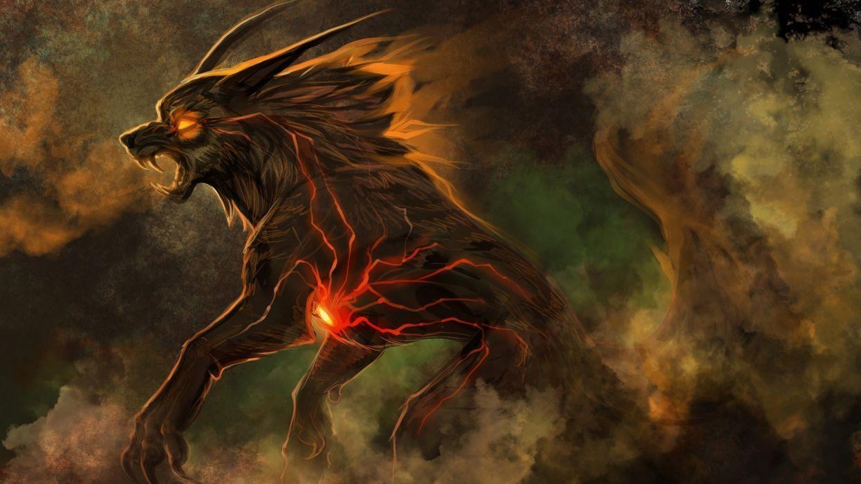 fantasy artwork creature monster wallpaper