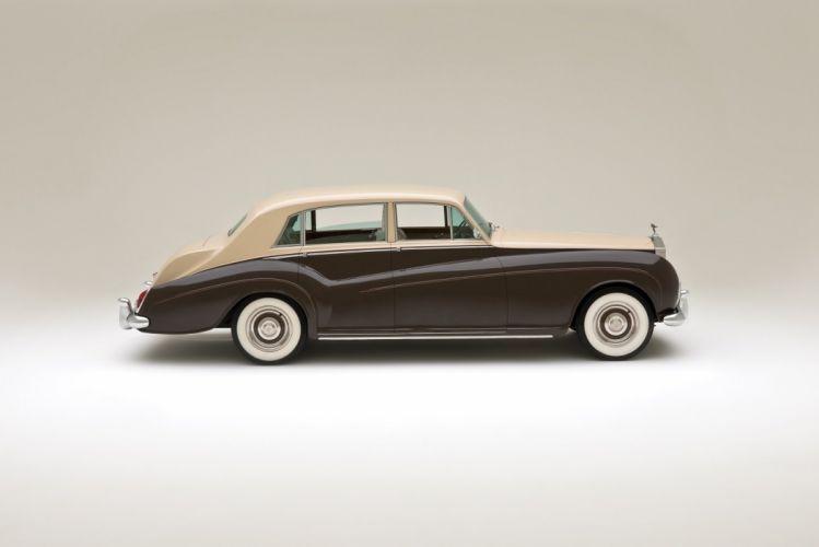 Rolls-Royce Silver Cloud LWB Saloon James Young (III) cars classic 1962 wallpaper
