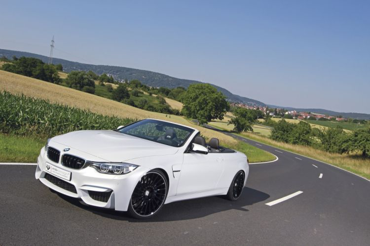 mbDESIGN BMW-M4 Convertible cars modified 2015 wallpaper