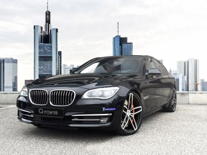 G-Power BMW 760i F01 cars modified 2015 wallpaper