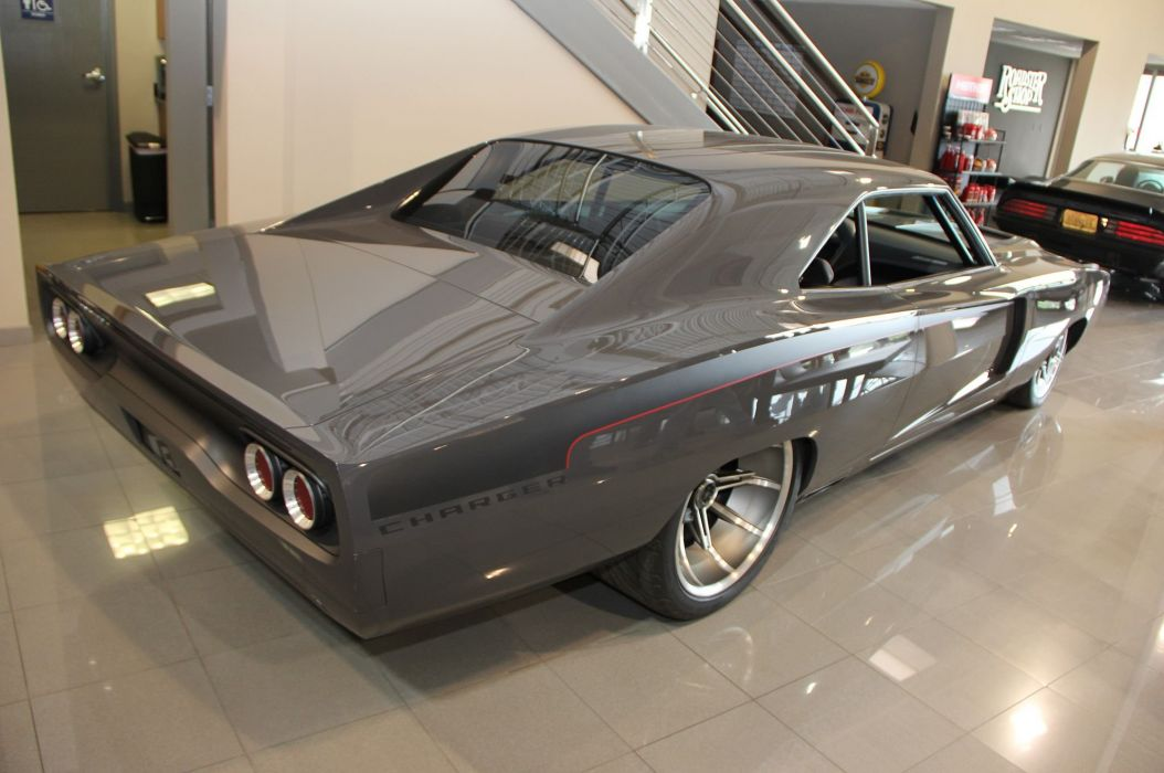 1968 Dodge Charger hot rod rods custom classic wallpaper