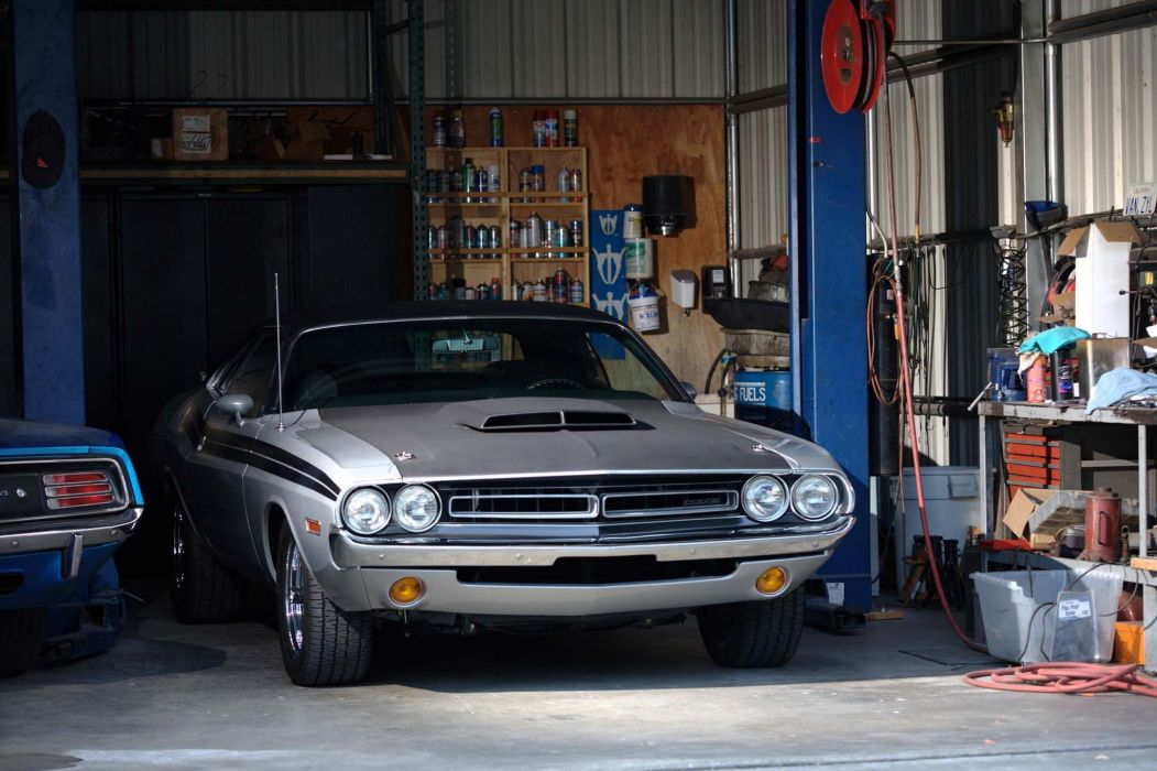 1971 Dodge Challenger Hemi hot rod rods custom muscle classic wallpaper