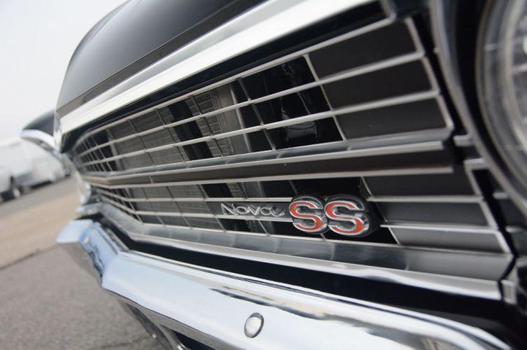 1967 Chevrolet Chevy II hot rod rods custom muscle classic drag racing race d wallpaper
