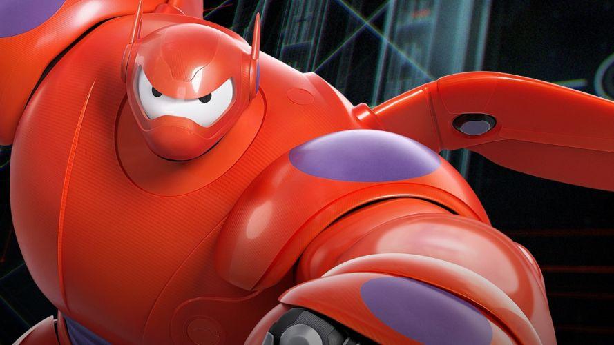 BIG-HERO-6 animation action adventure disney robot superhero big hero futuristic wallpaper