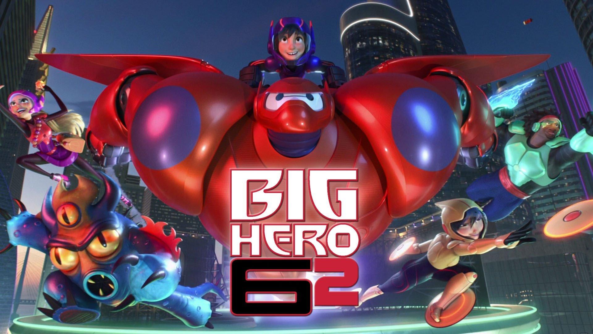 BIG-HERO-6 animation action adventure disney robot ...