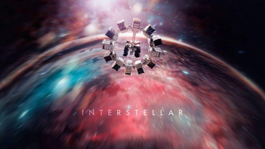 INTERSTELLAR sci-fi adventure mystery astronaut space futurictic spaceship poster wallpaper