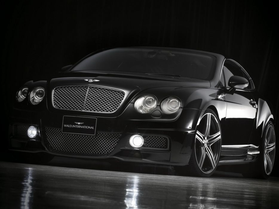 WALD INTERNATIONAL Bentley Continental-GT Sports Line cars modified 2008 wallpaper