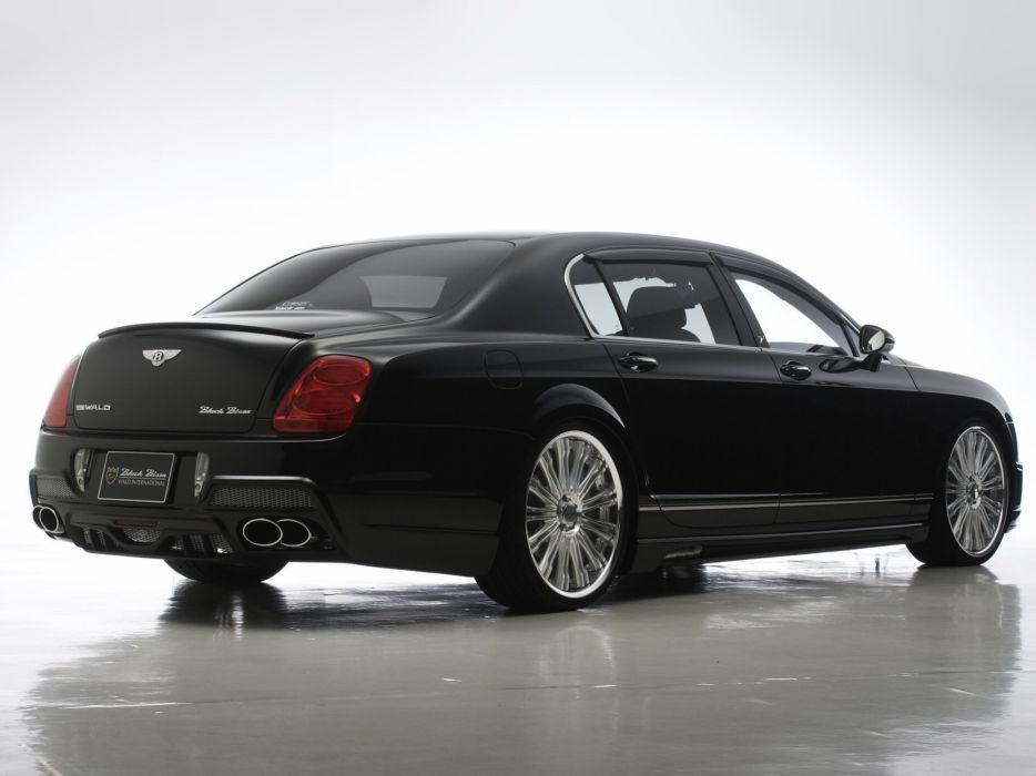 WALD INTERNATIONAL Bentley Continental Flying Spur Black Bison Edition cars modified 2010 wallpaper