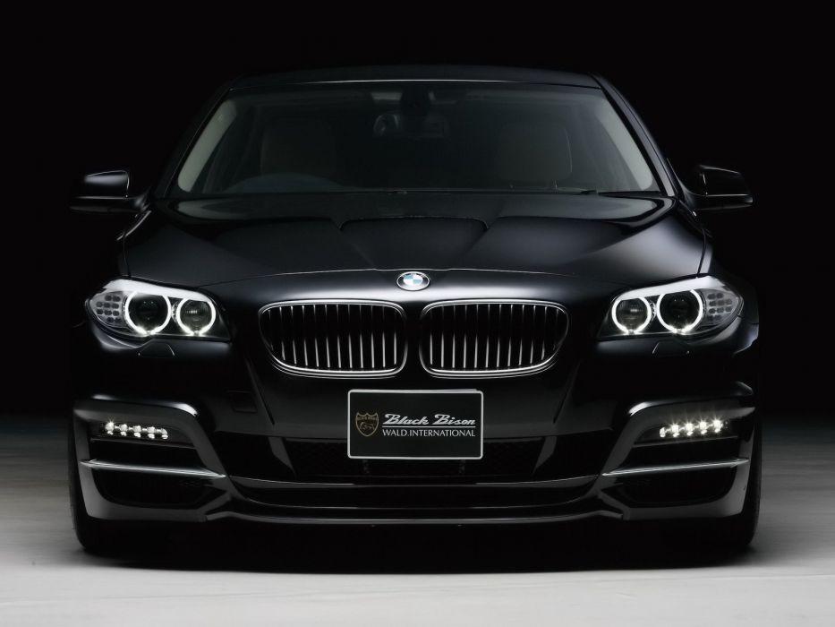 WALD INTERNATIONAL BMW 5-Series Black Bison Edition (F10) cars modified 2011 wallpaper
