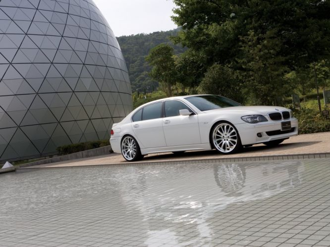 WALD INTERNATIONAL BMW 750Li (E66) cars modified 2011 wallpaper