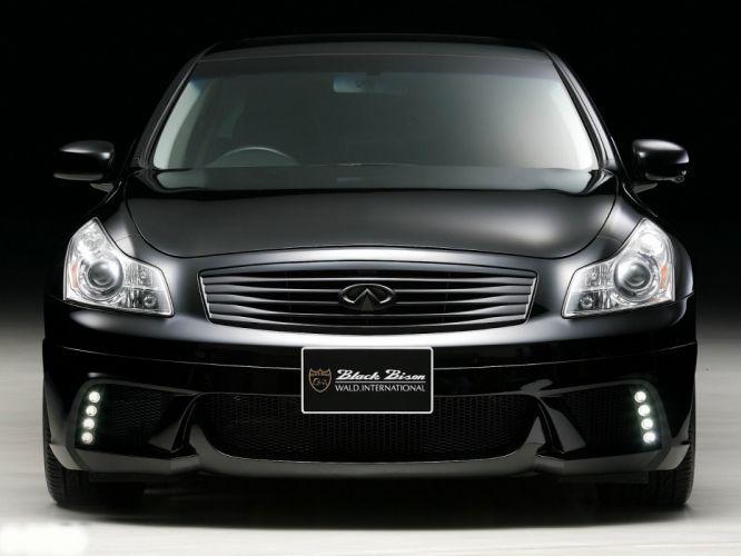 WALD INTERNATIONAL Infiniti G37 Black Bison Edition (V36) cars modified 2011 wallpaper