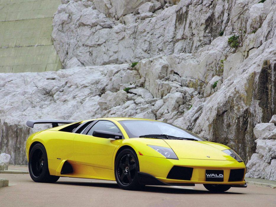WALD INTERNATIONAL Lamborghini Murcielago-S cars modified 2002 wallpaper