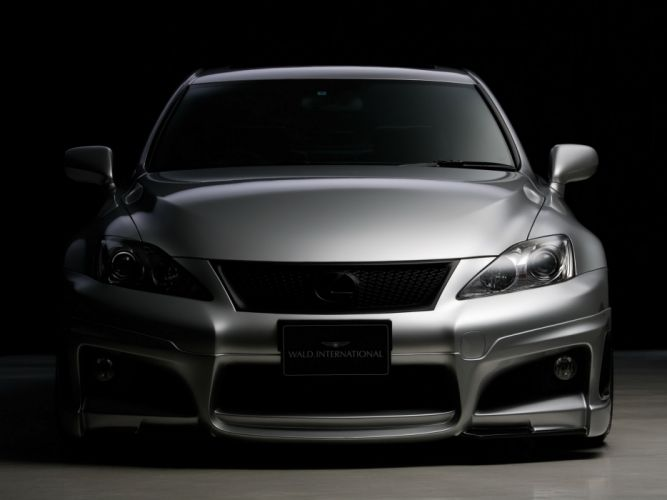 WALD INTERNATIONAL Lexus-ISF Sports Line cars modified 2010 wallpaper