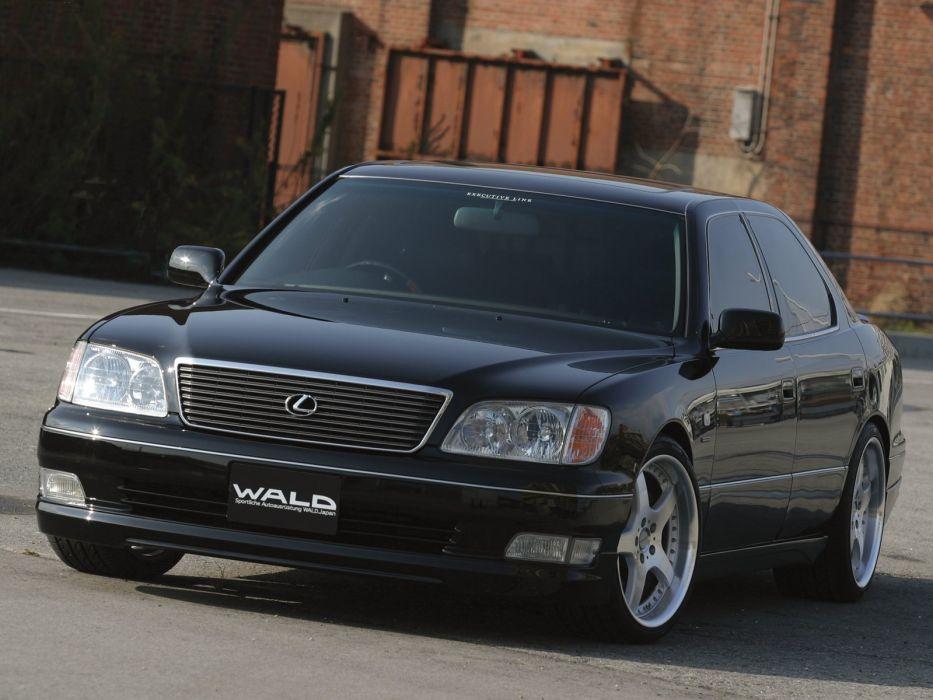WALD INTERNATIONAL Lexus-LS 400 cars modified 2000 wallpaper