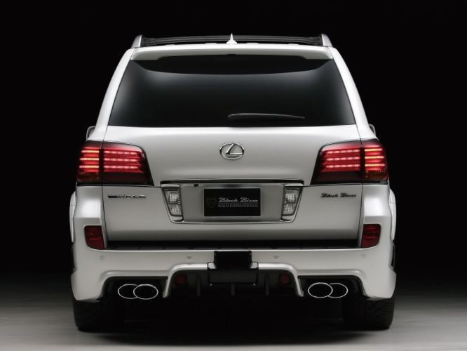 WALD INTERNATIONAL Lexus LX-570 Black Bison Edition Sports Line cars modified 2011 wallpaper