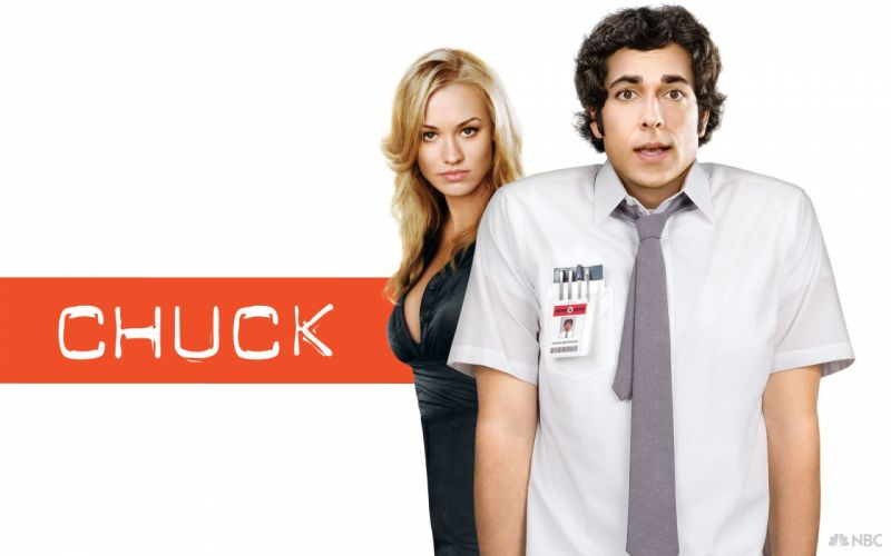 CHUCK action comedy series spy drama superhero crime poster wallpaper