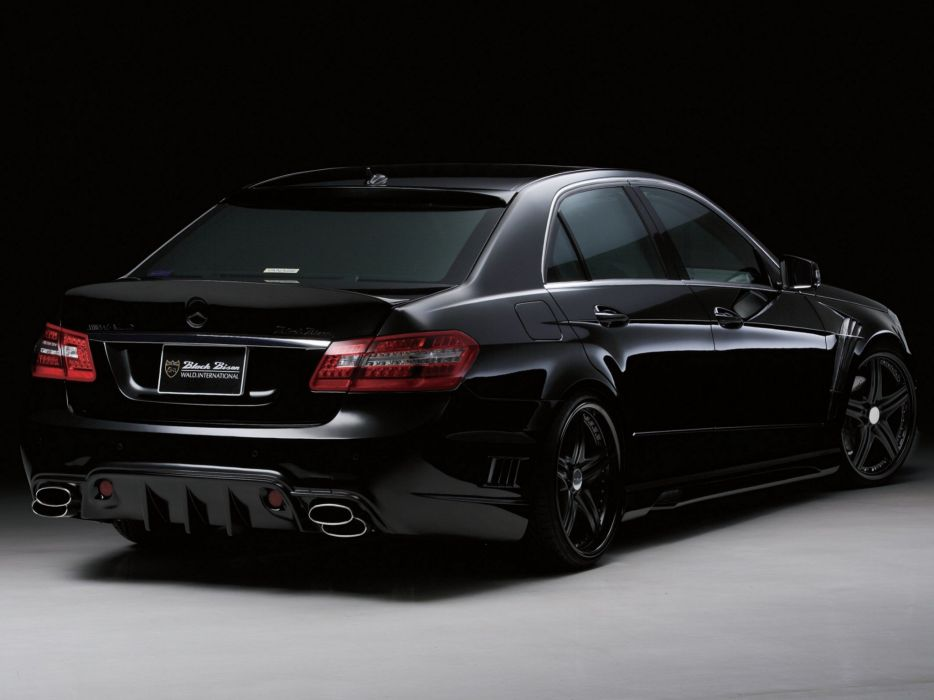 WALD INTERNATIONAL Mercedes-Benz E-class Sports Line Black Bison Edition (W212) cars modified 2009 wallpaper